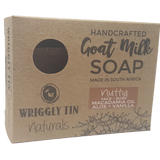 Nutty Face & Body Bar - Aloe, Macadamia Nut Oil & Vanilla