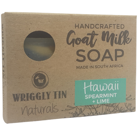 Hawaii Spearmint & Lime Goat Milk Soap