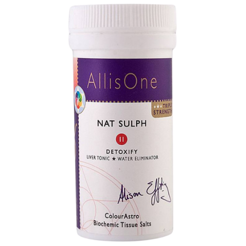 Nat Sulph Tissue Salt No.11 - Detoxify