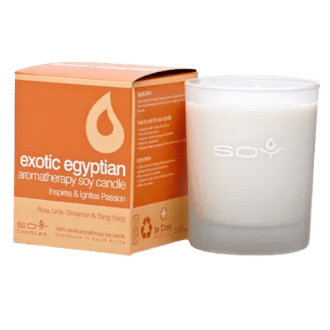 Soy Exotic Egyptian Candle