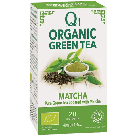 Qi Organic Green & Matcha Tea
