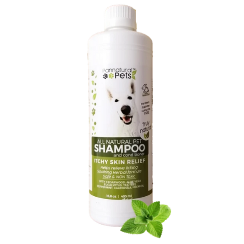 Itchy Skin Relief Shampoo & Conditioner for Pets