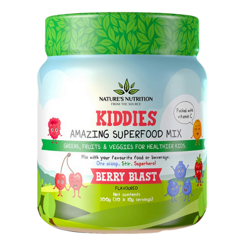 Nature's Nutrition Kiddies Berry Blast - Gesundheit