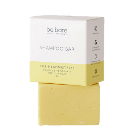 be.bare The Head Mistress Shampoo Bar