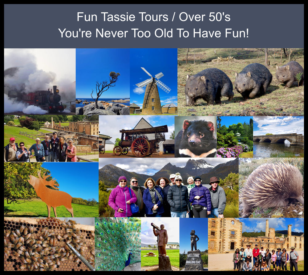 Tasmania Tours Over 50's
