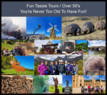 Tasmania Tours Over 50's | Tours For The Young at Heart! | Fun Tassie Tours