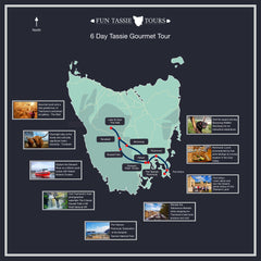 6 day tasmania tour