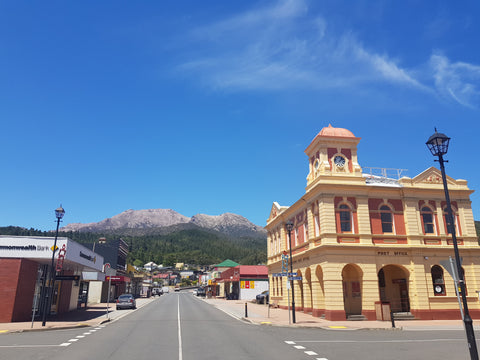The main street in Queenstown