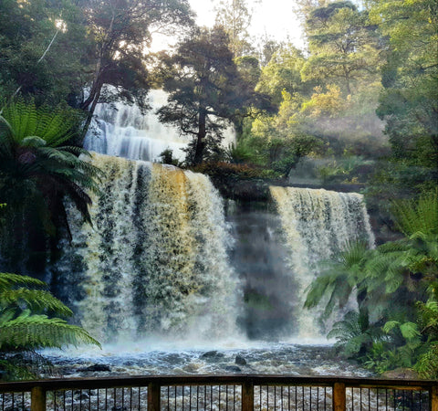 Russell Falls in Mt Field National Park