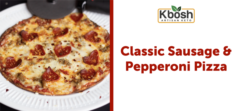 Classic Sausage & Pepperoni Pizza