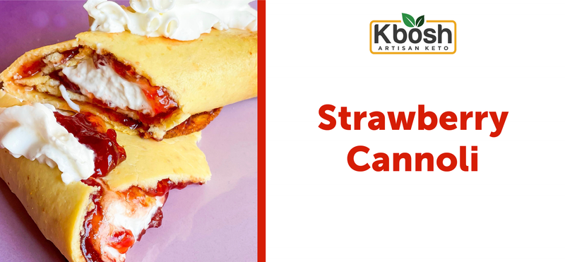 Strawberry Cannoli