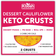 Dessert Cauliflower Keto Crust