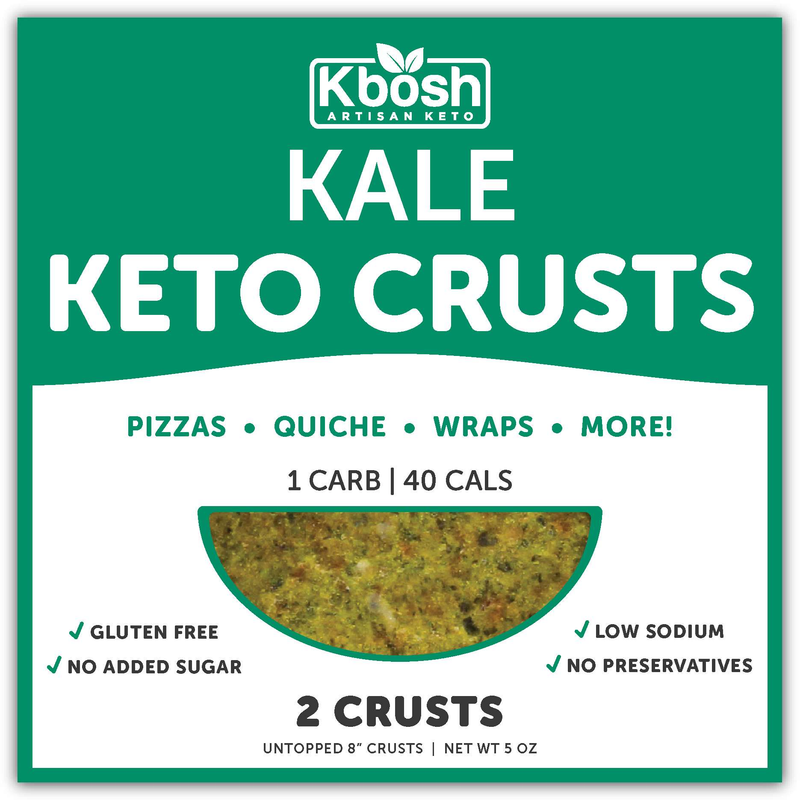 Kale Keto Crust: Pizza, Wraps, Lots More - KBosh