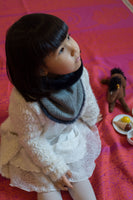 Luxury Japanese Handmade Neck Warmer Children AKEMI