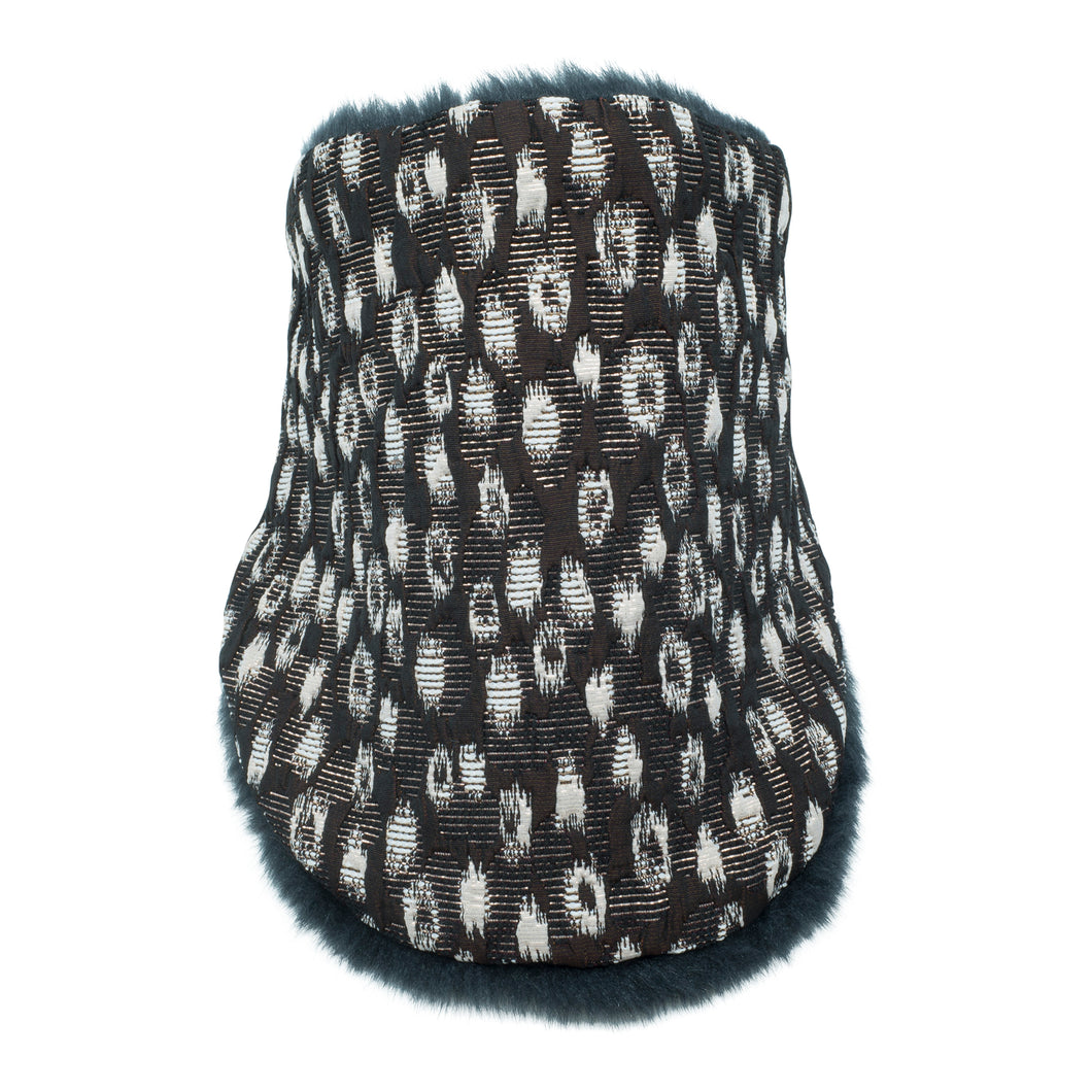 SHIZUKU Neck warmer for children handmade in Japan front view