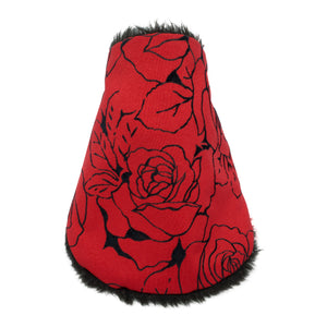 MONICA brown Neck warmer for children handmade in Japan front view