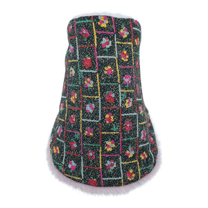 BOUQUETS Neck warmer for children handmade in Japan front view