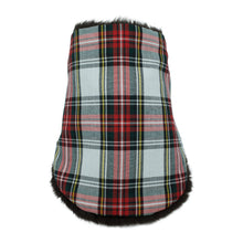 TARTAN Neck warmer for children handmade in Japan front view