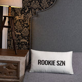 ROOKIE SZN PILLOW