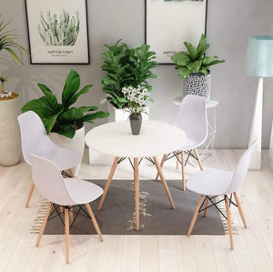 5 Piece Retro Dining Table