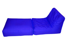 sofa cum bed parachute-electric blue-Home sweet home interiors
