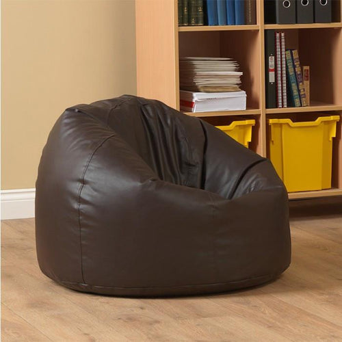 Artificial Leather Bean Bag-Home Sweet Home Interiors