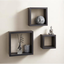 Box Shelf Set Dark Brown-Home Sweet Home Interiors