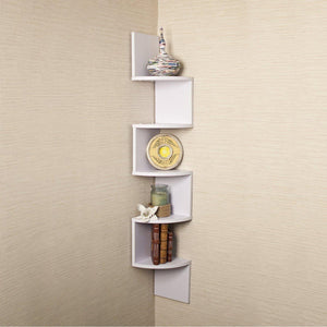 Nancy Corner Shelf White-Home Sweet Home Interiors