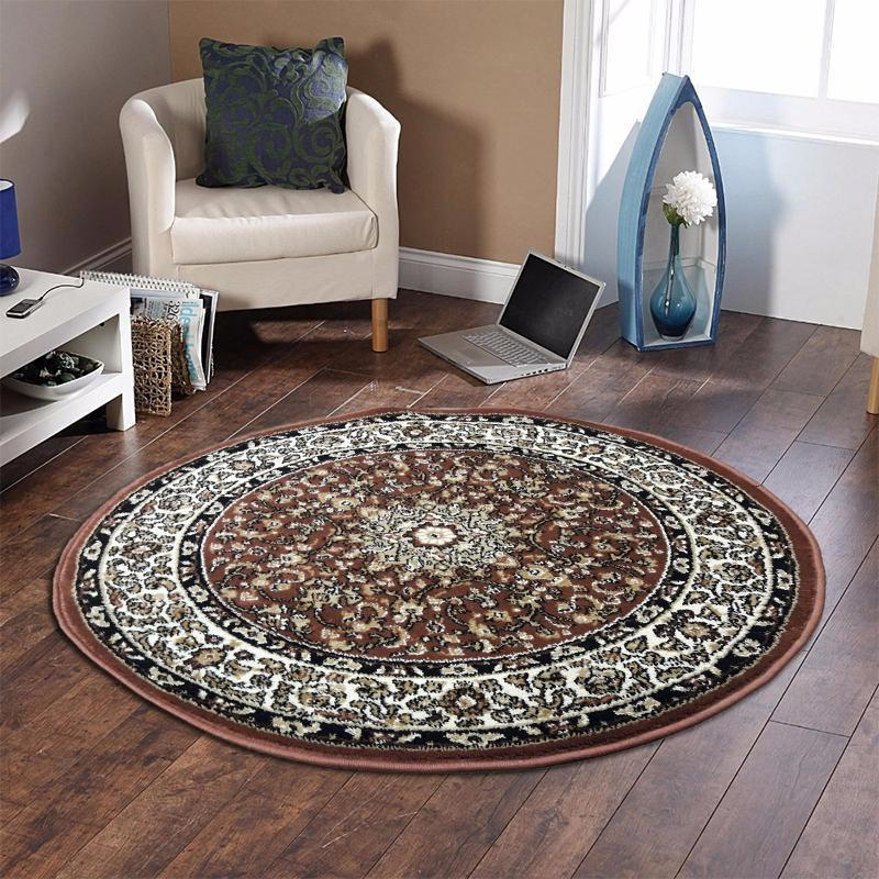 Persian Round Rug RR12-Home Sweet Home Interiors