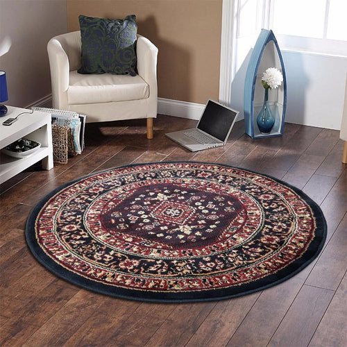 Persian Round Rug RR13-Home Sweet Home Interiors