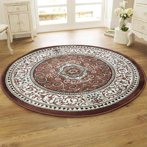 Persian Round Rug RR16-Home Sweet Home Interiors