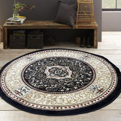 Persian Round Rug RR3-Home Sweet Home Interiors