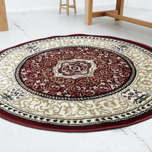 Persian Round Rug RR6-Home Sweet Home Interiors