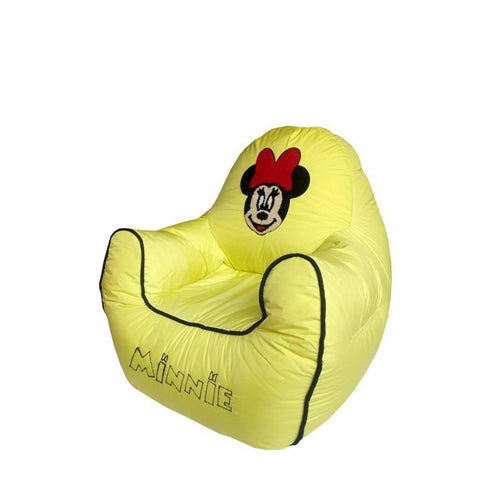Yellow Minnie Mouse Bean Bag-Home Sweet Home Interiors