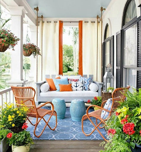 Beach Decor Coastal Outdoor Porches