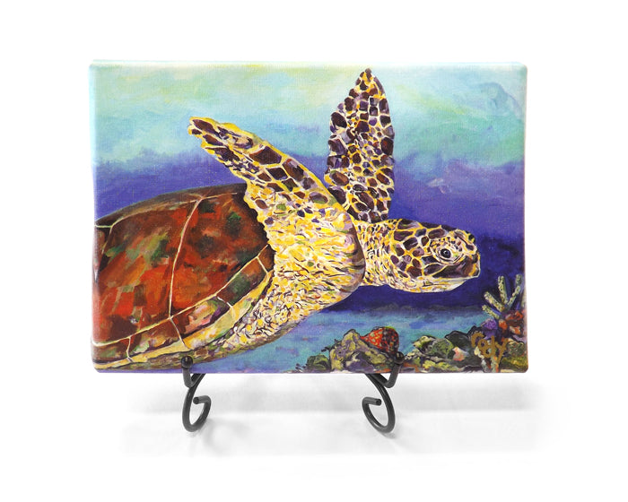 Reef Time Mini Giclee by Kim Rody