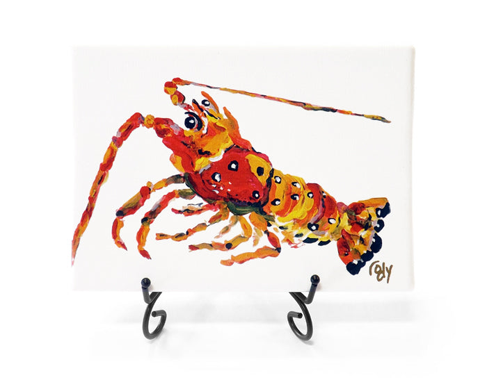 Lobster Mini Giclee by Kim Rody