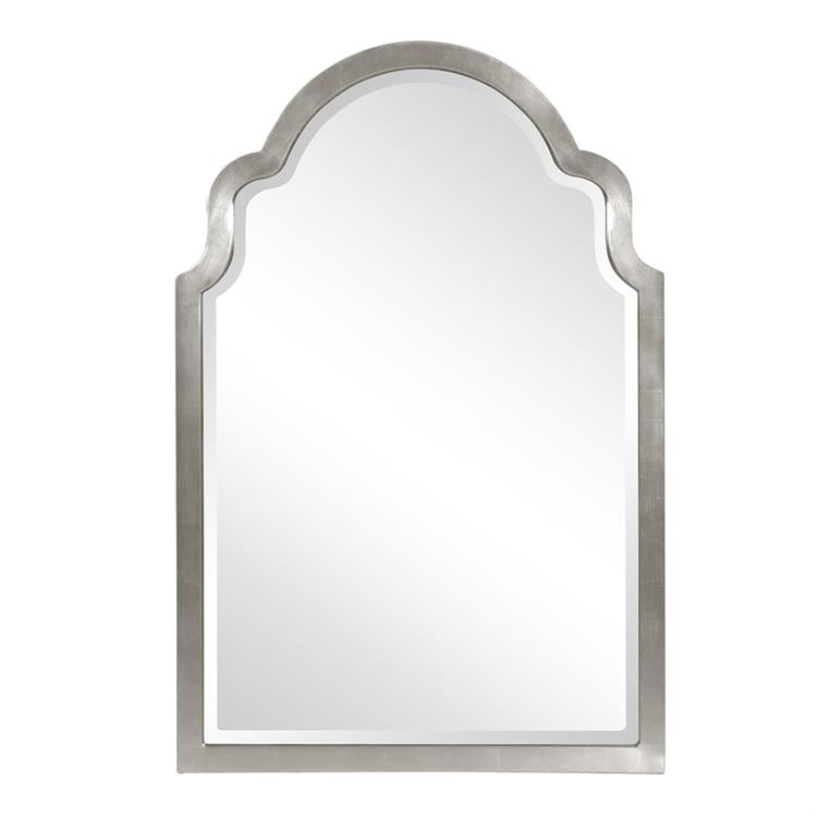 "Sultan Mirror - Glossy Nickel 24"" W x 36"" H"