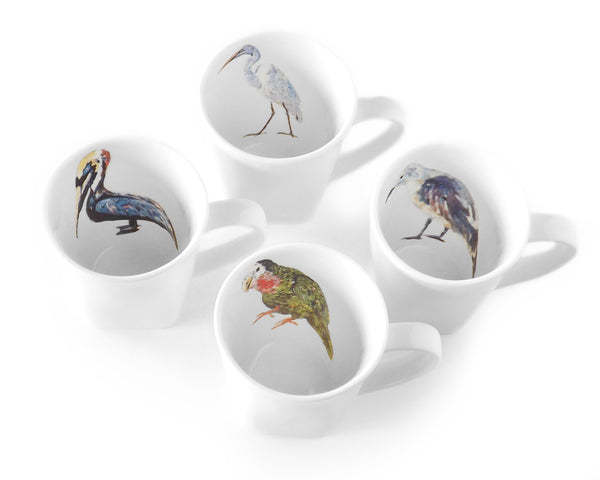 Bird Mug Set by Kim Rody