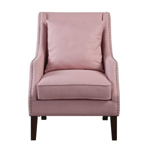 Shell Pink Arm Chair