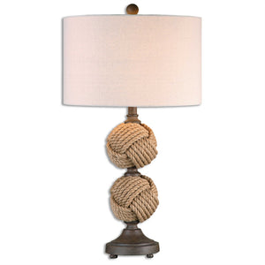 Rope Ball Table Lamp