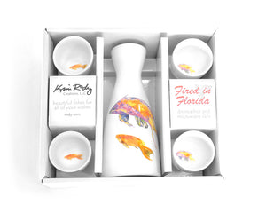 Pink & Yellow Basslets Sake Boxed Set by Kim Rody