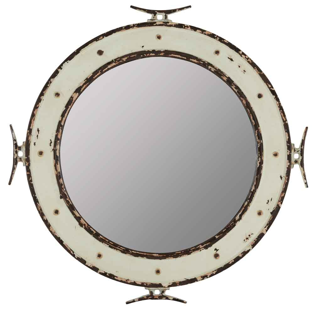 "Nautical Mirror 27"" Dia."