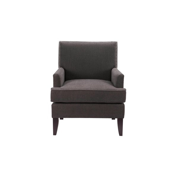 Arm Club Chair - Charcoal