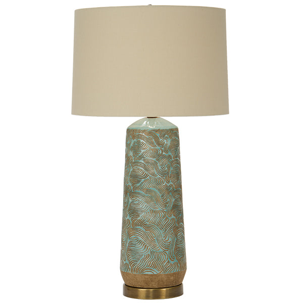 Skylar Seafoam Table Lamp