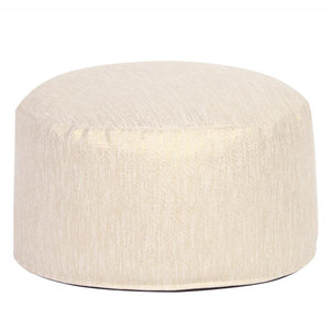 Glam Snow Ottoman in 3 Sizes