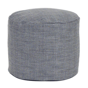 Coco Sapphire Pouf - Medium and Tall