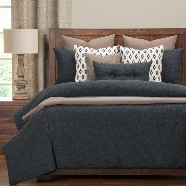 Belmont Deep Blue Bedding Collection