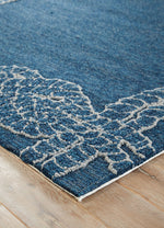 Killians Blue Indoor-Outdoor Area Rug