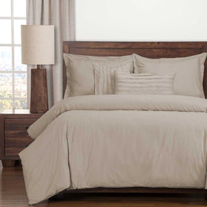 Classic Cotton Almond Bedding Collection